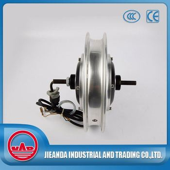 24v 180W 100-600rpm brushless dc hub motor with tyre