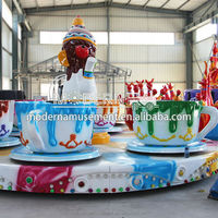Coffee Cup Rides, Kids Rides, Kids Rides For Theme Park Game