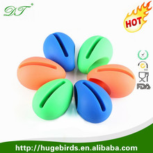 Wholesale Cute mini Creative Musical Silicone Stander Easter Egg wireless speaker Amplifier for iPhone 5G