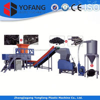 single shaft plastic shredding machine/shredder