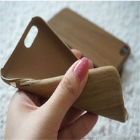 Wooden Grain Cell Phone Case For iPhone 6