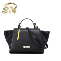 2014 Fashion custom genuine leather women handbags, designers handbags made in italy