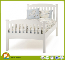 Modern style white high quality super adult folding single beds for sale