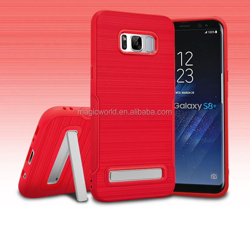 Bulk Buy From China Kickstand TPU Phone case For Samsung s8