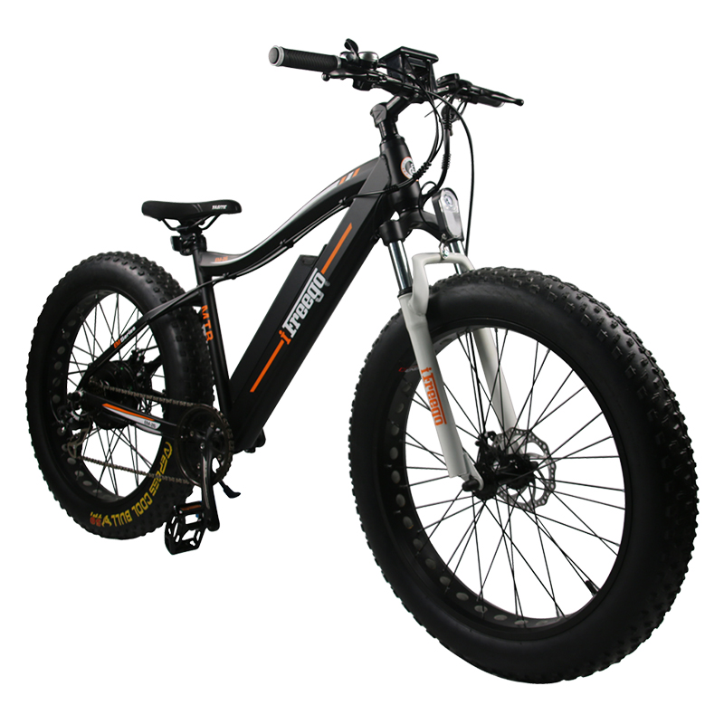 European And American Markets Hot 70Km Mileage Snow Electric Bicycle Ebike Fat