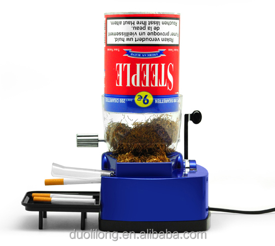 Automatic Electric Speed Tobacco Rolling Injector Cigarette Maker