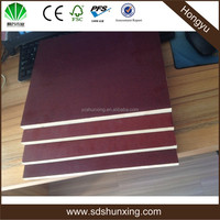 Hong yu Trade Assurance hardwood core film faced plywood/black film faced plywood at competitive price