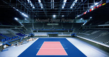 Best Price Cheap pvc sports mats/Volleyball Gym Flooring Covering