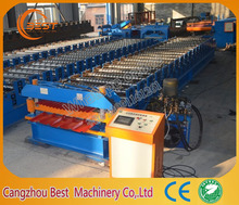 Hot sale double layer roof sheet roll forming machine