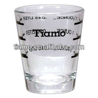 Tiamo Measuring cup,coffee cup,coffee accessory