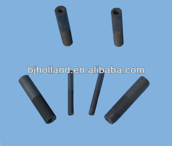 Graphite die for continuous upward casting machine