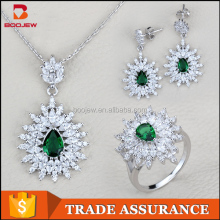 Hong kong jewelry design exquisite handmade fashionable silver jewelry wholesale jewelry set with multi gem stone