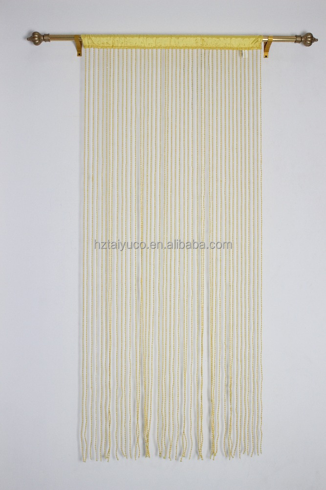 French String Door Curtain 90x200cm New Pellet Chain Disign