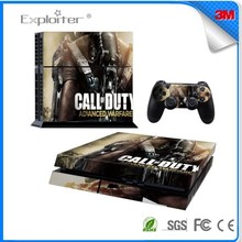 Cheap most popular vinyl sticker for ps4 console decal vinyl skin