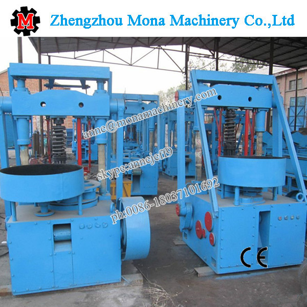 Best selling CE approved coal briquetting machine/honeycomb charcoal briquette machine for sale