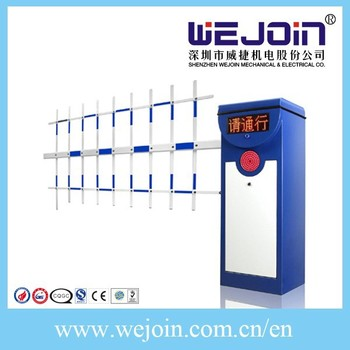 Barrier Gate with LED Screen Support the Infrared Photocells