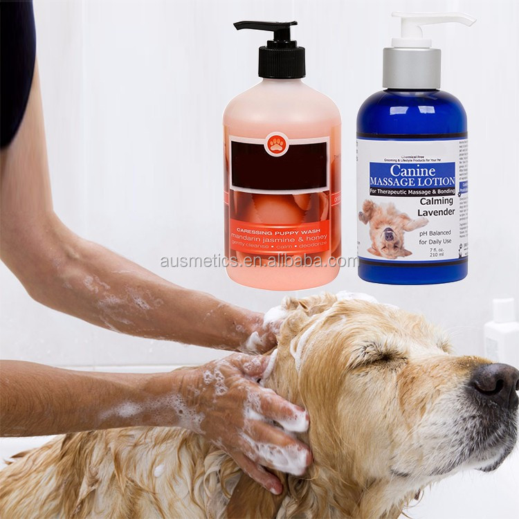 Private label wholesale price pet dog wash gel organic natural dog shampoo