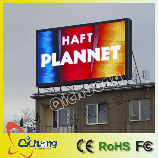 outdoor commercial adversting wifi/3G wireless or computer control led digital sign