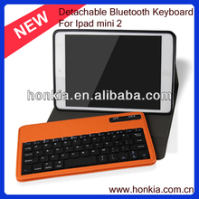 Detachable Wireless Mini Bluetooth Keyboard For ipad mini 2