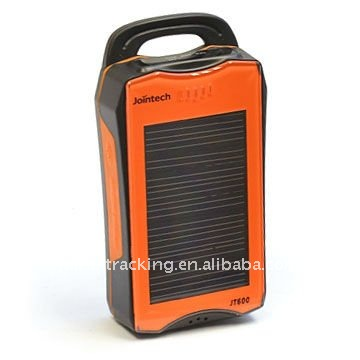Solar GPS tracker with big backup battery 2500mAh JT600