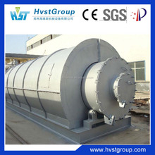 Used tire pyrolysis crude oil machine