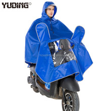 good quality watterproof windproof pvc rainsuit rainwear Rain motorcycle poncho