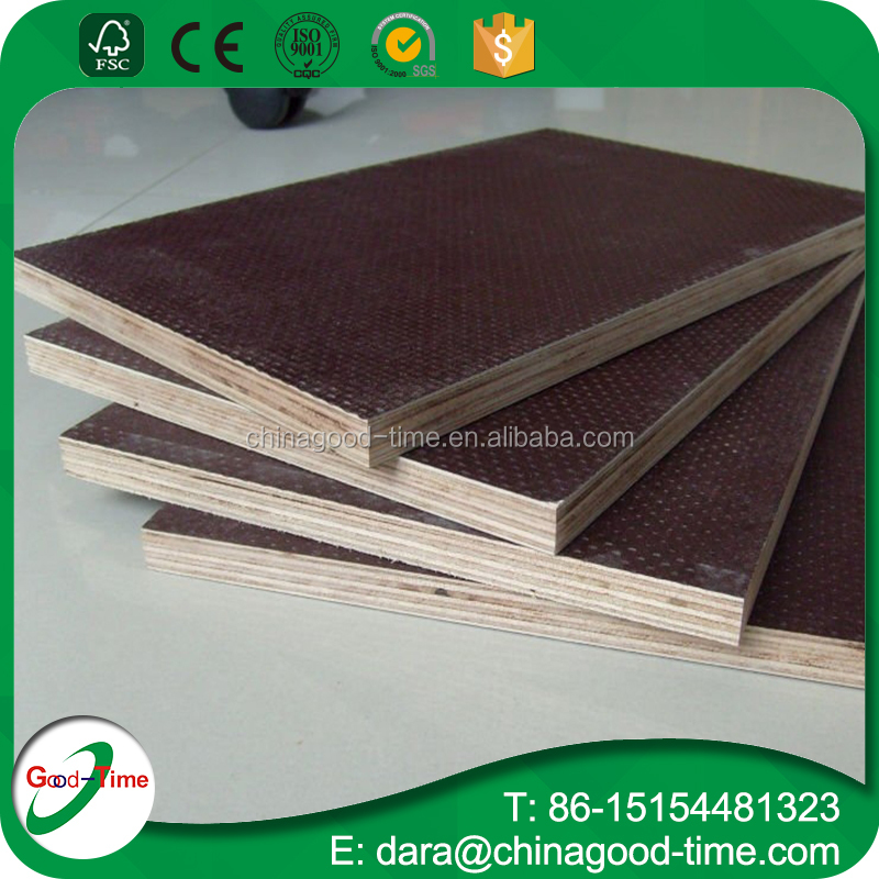 anti-slip film faced trailer floor plywood truck flooring plywood