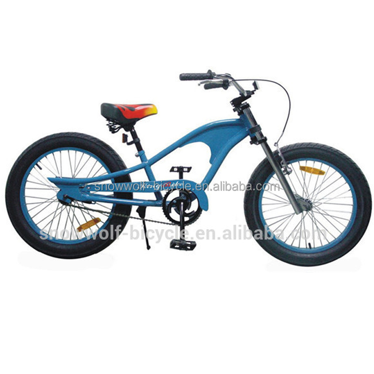 New cruiser bike with fat tyres for snowy road or beach chopper bike
