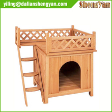 Indoor & Outdoor Wooden Cat House/Dog Kennel/Wooden Pet House