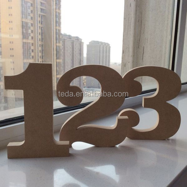 High quality art minds wooden alphabet letters