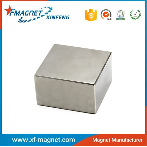 China Epoxy Coating Block Ndfeb Magnets/brushless motor permanent ndfeb magnet