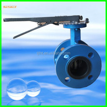 Flanged Manual Butterfly Valve With Lever Handle,butterfly Valve,industrial Butterfly Valve