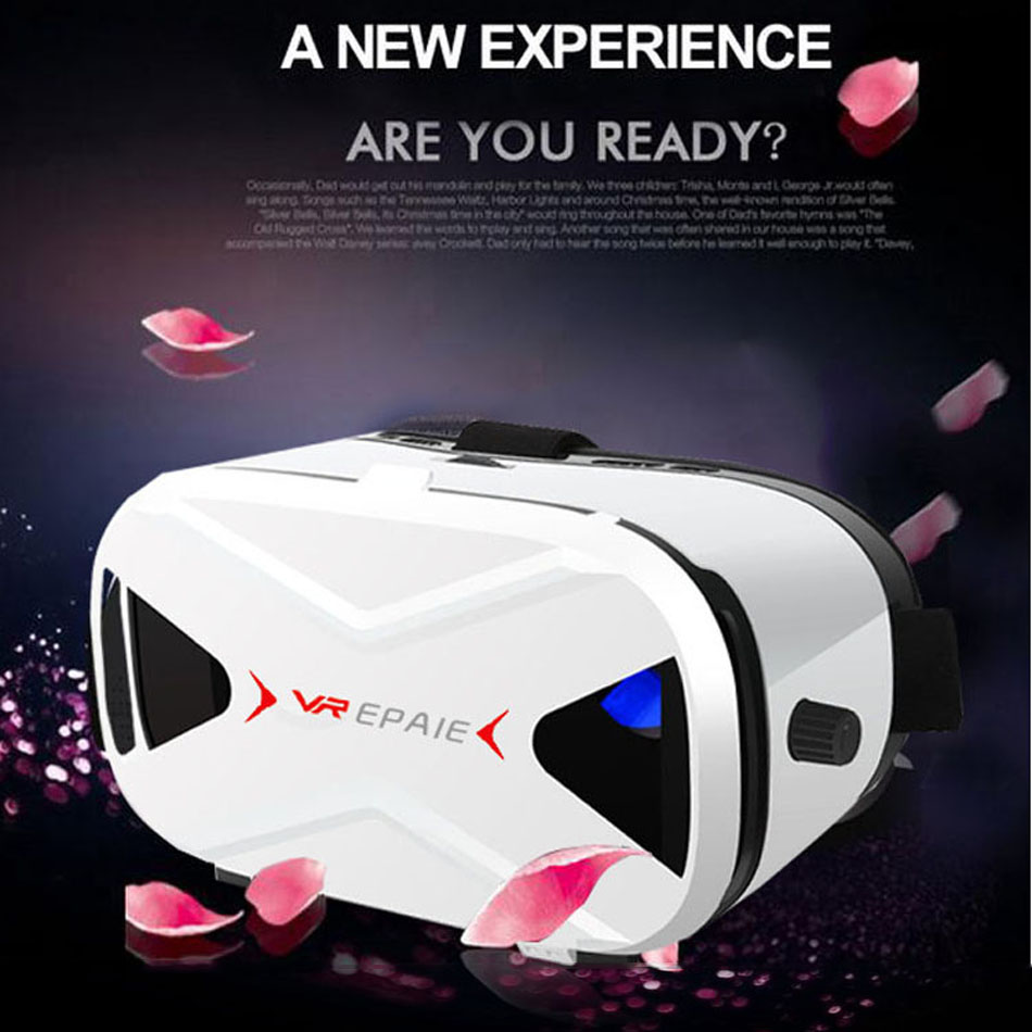 2016 high quality vr case 3d glasses open videos for private cinema