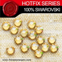 Wholesale Swarovski Elements Golden Shadow (GSHA) 8ss Crystal Iron On Hotfix