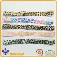 Fashion Leopard Print Young Ladies Girls Decorative Knot Elastic Hair Bands