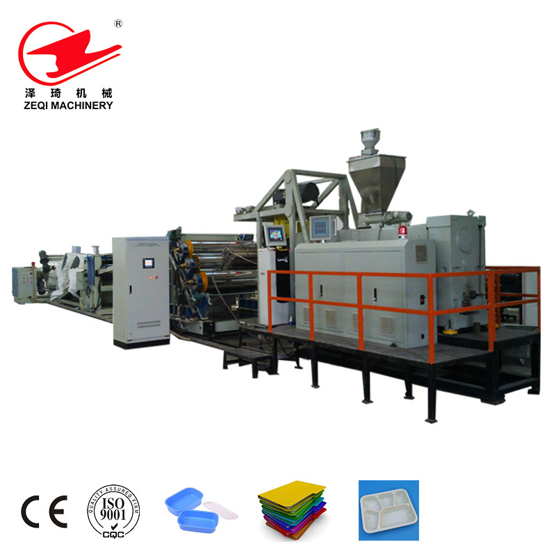 Zeqi Disposable Pp Plastic Plate Food Container Making Machine - Buy ...