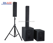 Full range Active Satellite PA/DJ Speaker System