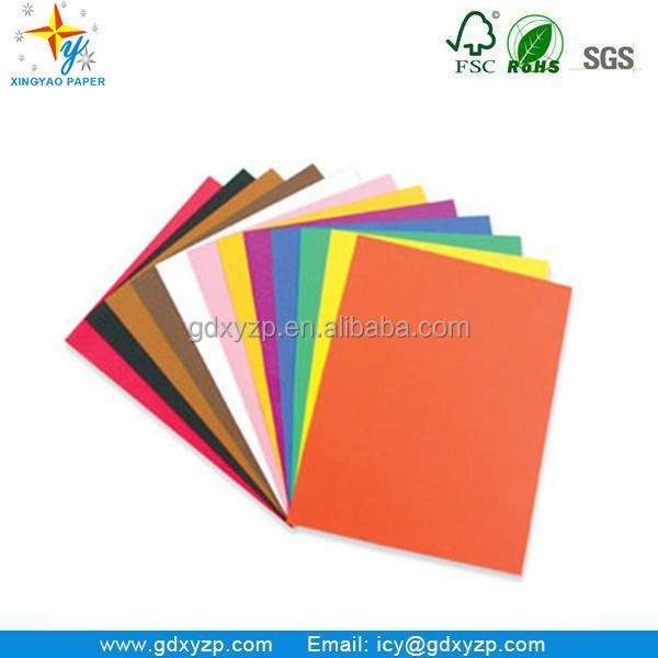 350gsm Paper Board Color Board Paper Art Board Paper for Handworking
