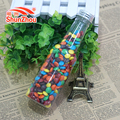 145g beer shape bottle fastener shape colorfulr coated sweet chocolate beans