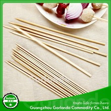 party disposable round thin BBQ bamboo skewers