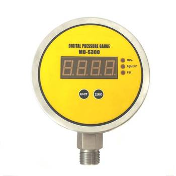 MD-S300E Radial direction mounting high precision water, oil, gas digital pressure gauge dszh