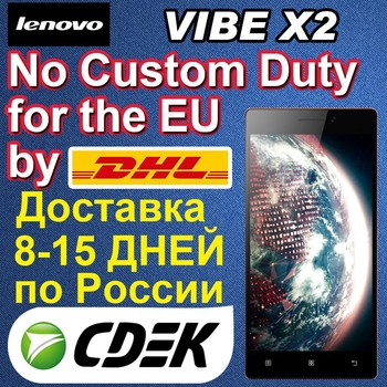 VIBE X2 Lenovo Mobile Phone 5 inch 2GB RAM Octa Core 13MP Android 4.4 lLTE Smartphone support Russian Language