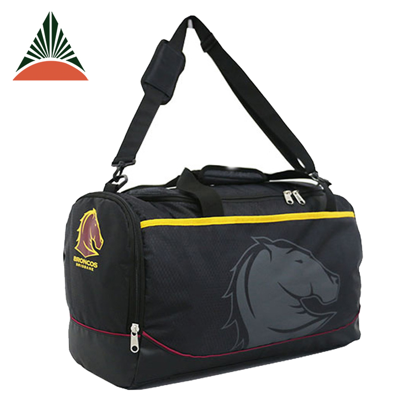 Football Team Holdall Men Fitness Outdoor Sports Travel Duffel Bag