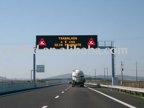 LED billboard Outdoor moving message screens sign