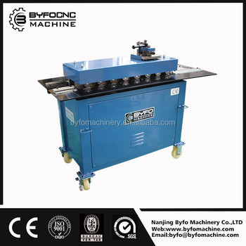 Alibaba recommends Nanjing Byfo electric square air duct lock machine for sale at a low price