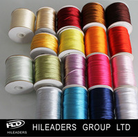 Wholesale 3MM Polyester Soft Narrow Satin Ribbon