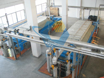 Large complete sets of palm oil making machine