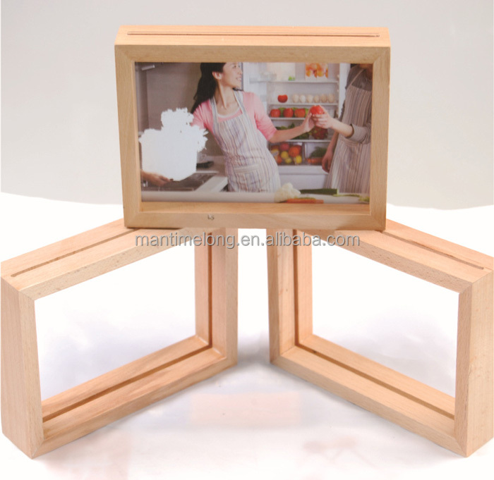 Europea Style Old Style Retro Photo Frame, Vintage Wood Picture Frames