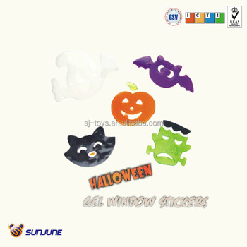 plastic halloween decroative wall sticker