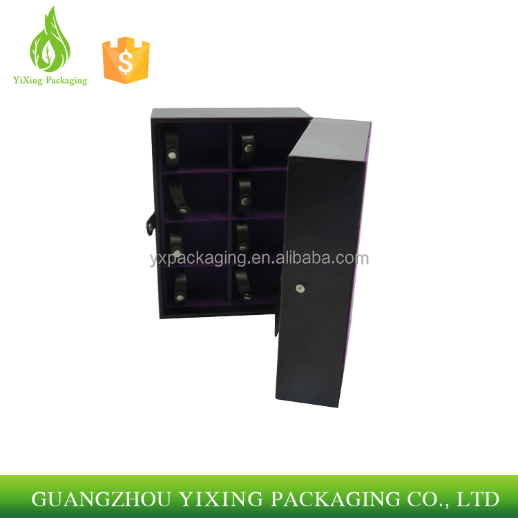 wholesale black packaging box rigid black gift cigar boxes paper